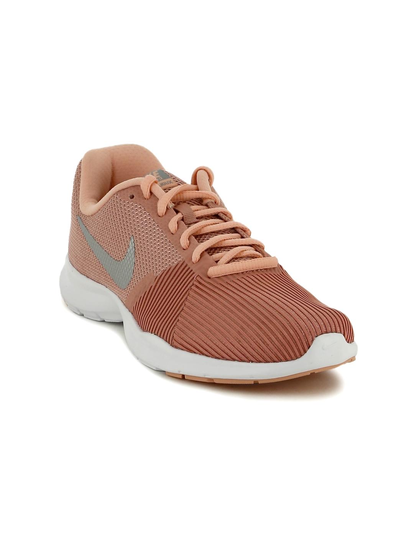 ac38f5724cae Buy Nike Women Dusty Pink FLEX BIJOUX Training Shoes - Sports Shoes ...