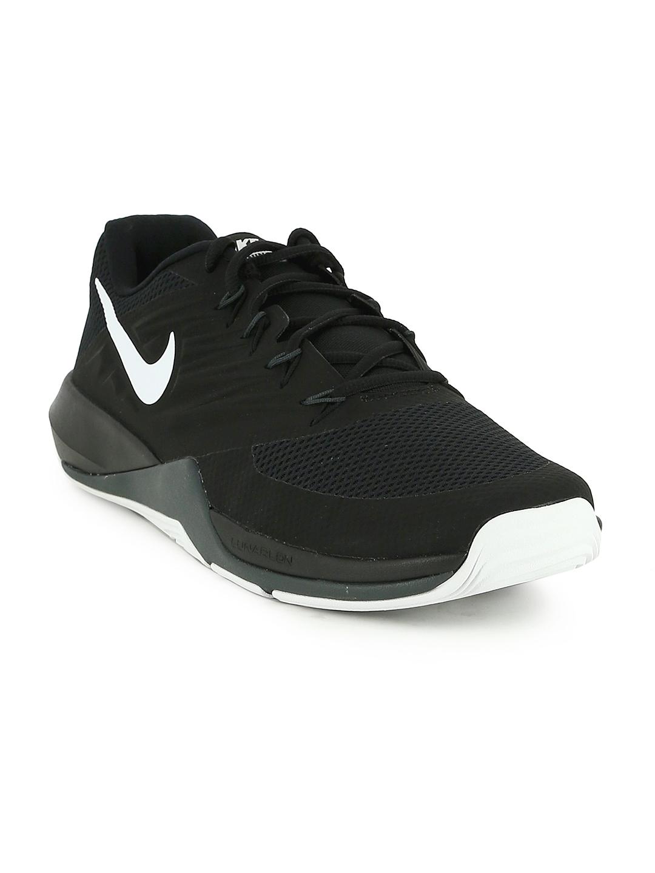 purchase cheap 4b4a7 a680b Nike Men Black LUNAR PRIME IRON II Training Shoes