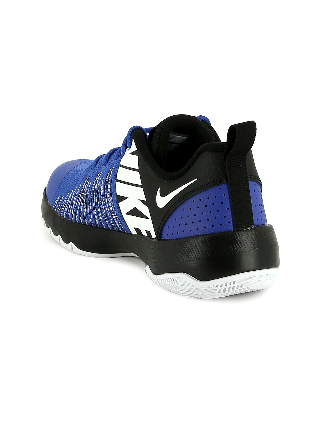timeless design c4ada 11e7f Nike Boys Blue   Black TEAM HUSTLE QUICK Basketball Shoes