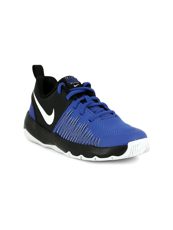 2eab22ace48e Buy Nike Boys Blue   Black TEAM HUSTLE QUICK Basketball Shoes ...