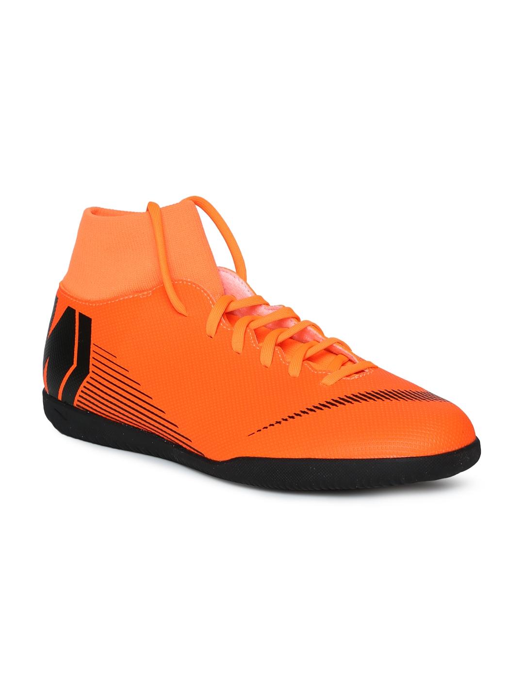 Buy Nike Unisex Orange Superflyx 6 Club IC Football Shoes - Sports ... bd6a8c4e87524