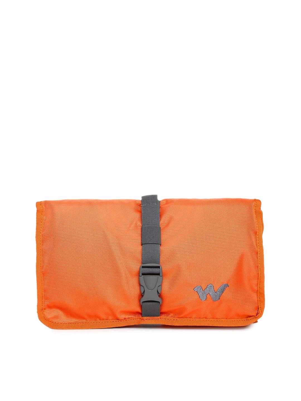Wildcraft Unisex Orange Pac n Go Travel Kit