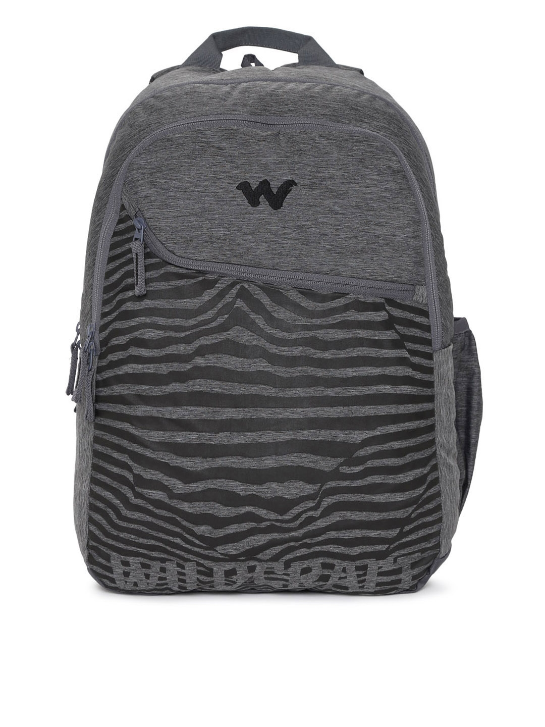 Buy Wildcraft 3 Wild Unisex Grey   Black Graphic Backpack ... 8d9512af22d5e
