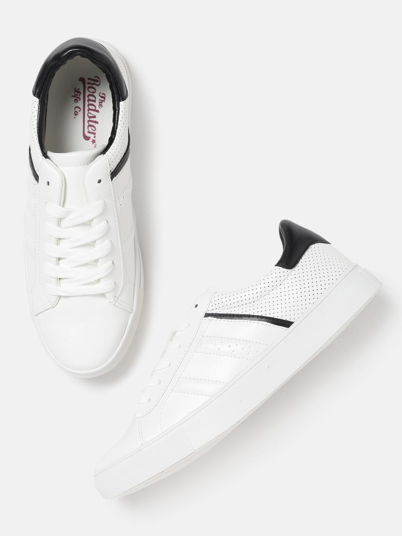 5e9893f1d2e Buy Roadster Women White Sneakers - Casual Shoes for Women 2377489 ...