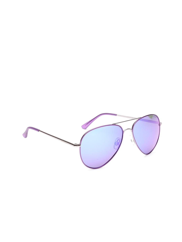 e2c3ae02370706 Buy Polaroid Unisex Aviator Sunglasses P4139 R4B 58MF - Sunglasses ...