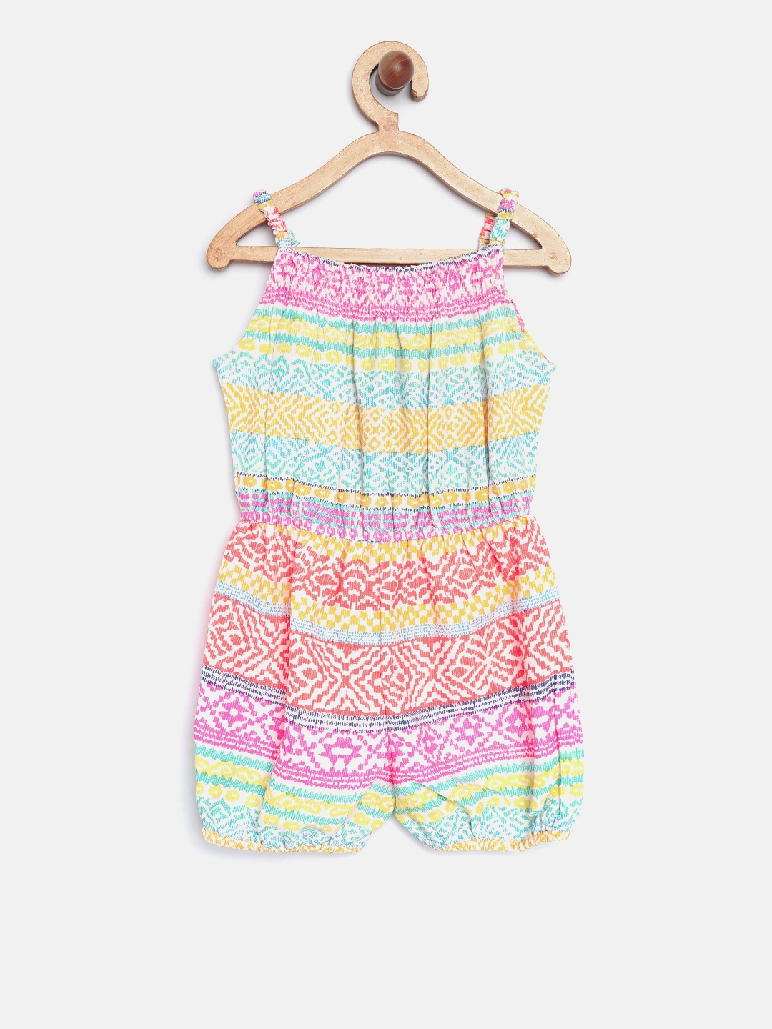 169af778363 Buy Nauti Nati Girls Multicoloured Printed Playsuit - Jumpsuit for ...