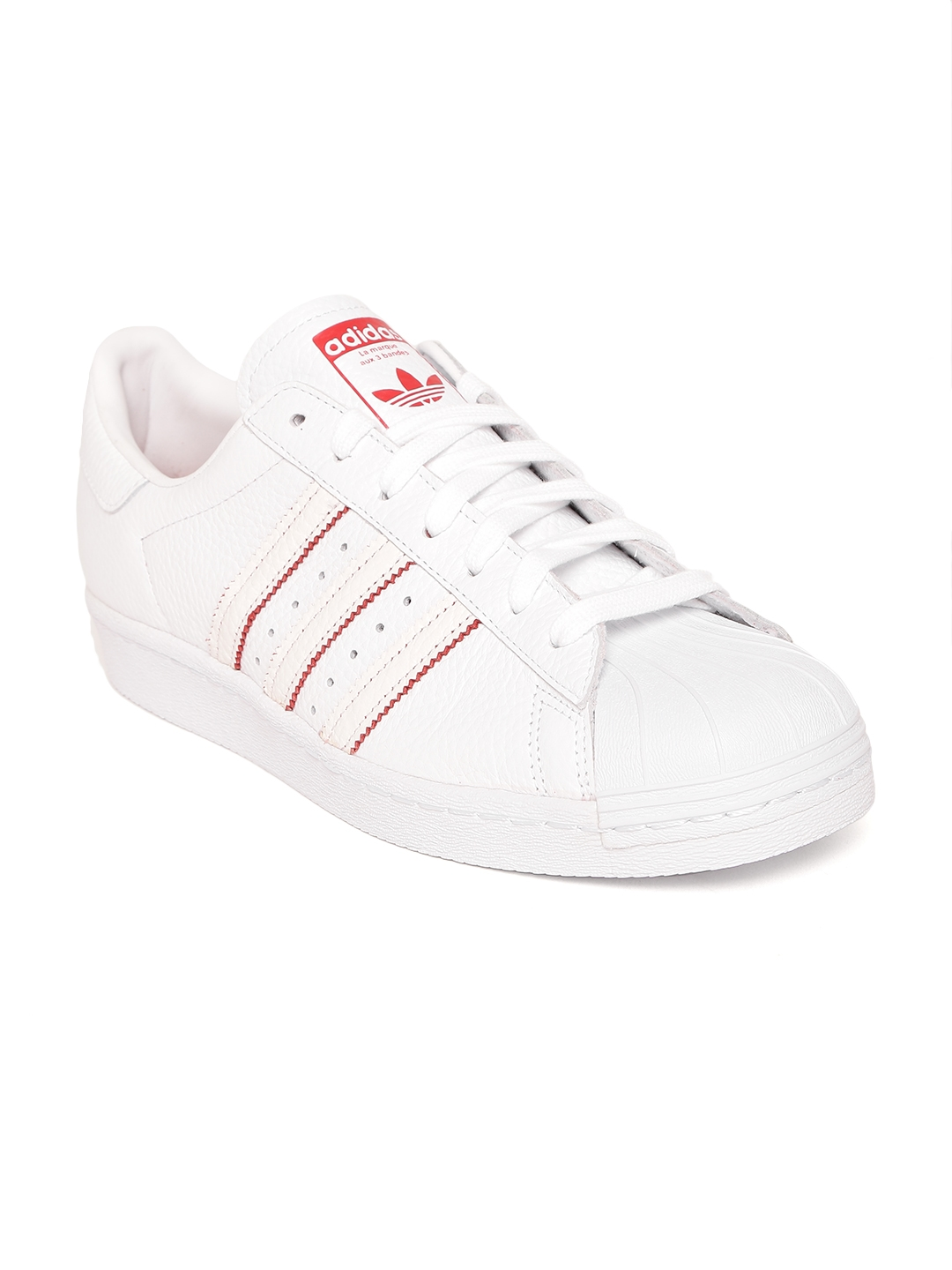 05171cade873 Buy ADIDAS Originals Men White Superstar 80S CNY Leather Sneakers ...