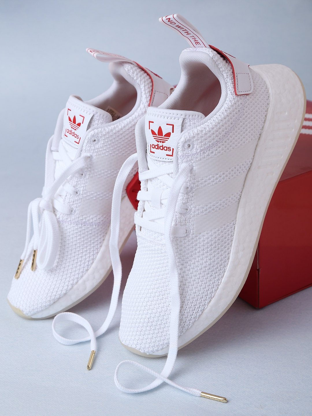 7275e3f6fdd0a Buy ADIDAS Originals Men White NMD R2 CNY Sneakers - Casual Shoes ...