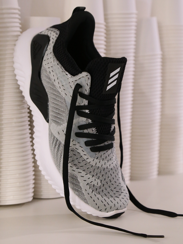 official photos 3e85b e6e97 ADIDAS Women Grey Alphabounce Beyond Running Shoes