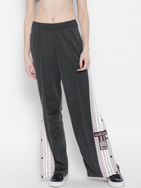 6a8c65b1f44 Buy ADIDAS Originals Women Charcoal Grey ADIBREAK Track Pants ...