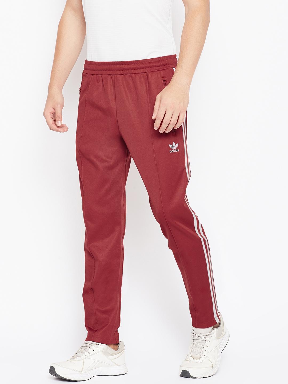 Buy ADIDAS Originals Men Rust Red BECKENBAUER Track Pants - Track ... f8523d5b9