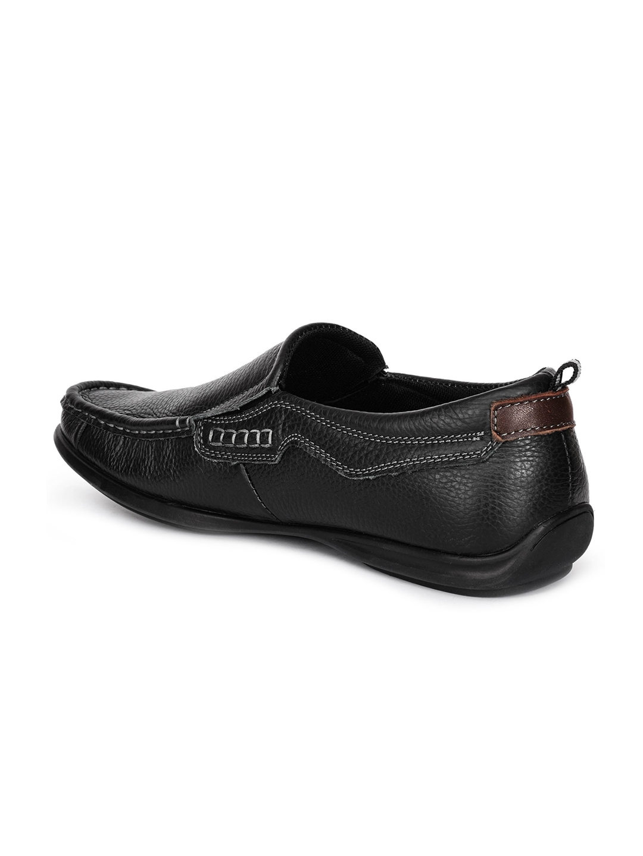 2e5dcf65dc607a Buy Action Men Black Loafers - Casual Shoes for Men 2396896