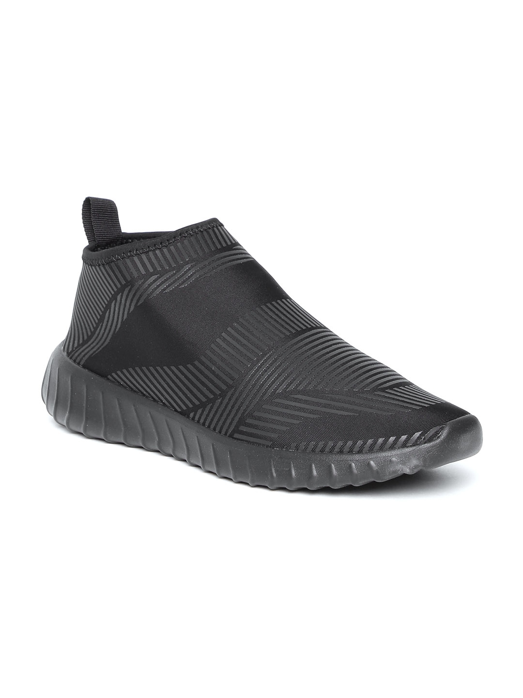 Buy Lotto Men Black Self Striped Slip On Sneakers - Casual Shoes for ... c1a11140b54