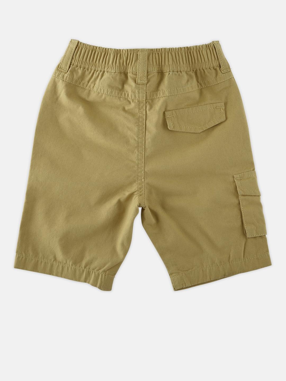 1671c6ea1a1 Buy Chirpie Pie By Pantaloons Boys Khaki Solid Regular Fit Regular ...