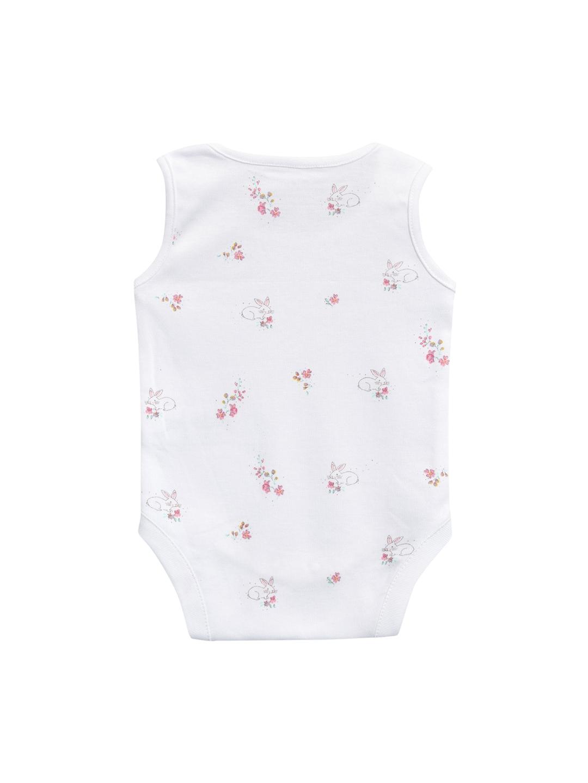 Buy Next Girls Pack Of 4 Pink   White Bodysuits - Bodysuit for Girls ... bd0c67b6e