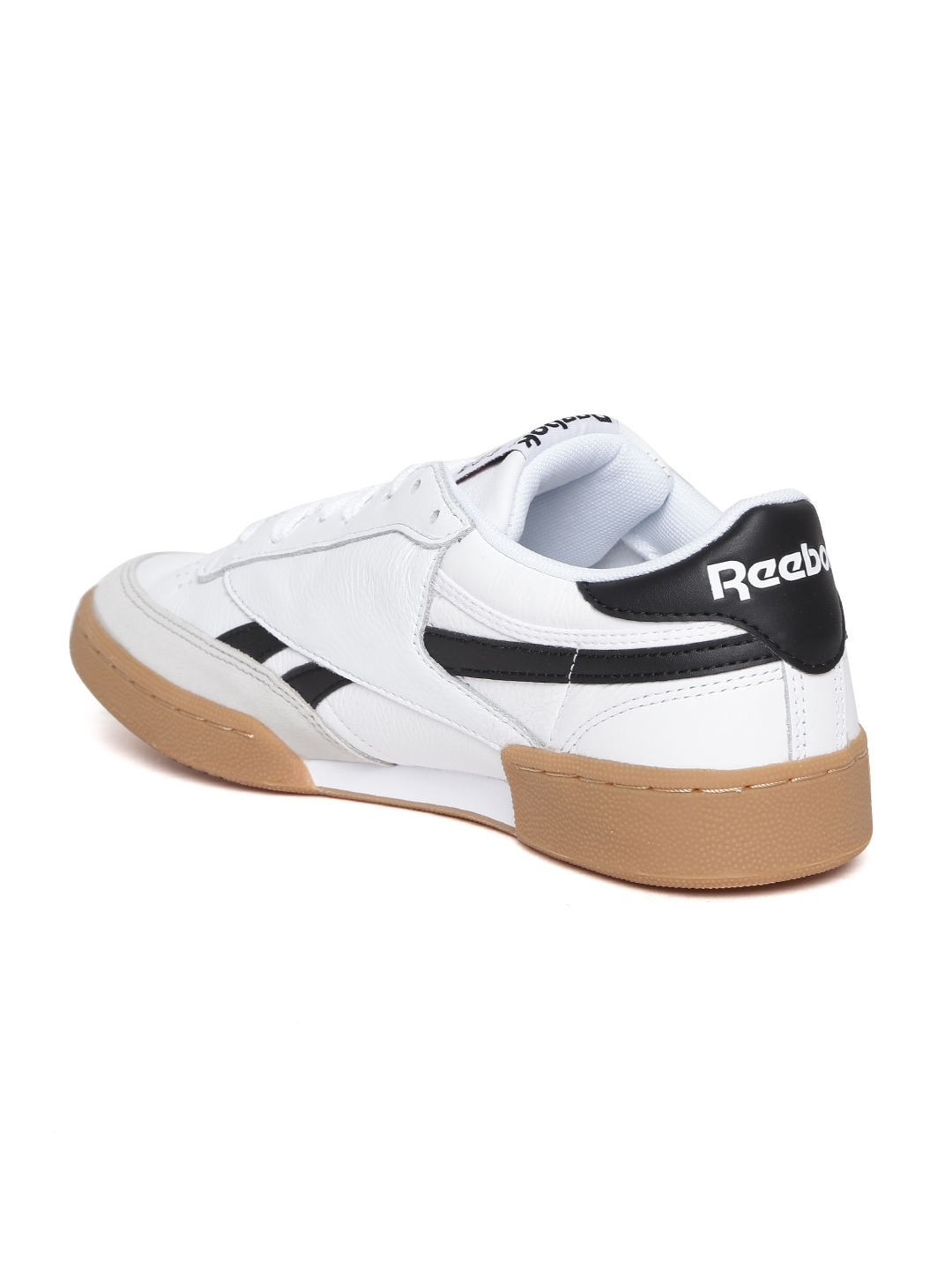 d2ad12ae64c3 Reebok Classic Men White REVENGE PLUS GUM Leather Sneakers. Rs. 7999Additional  ...