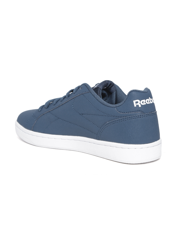 6864e5dc327 Buy Reebok Classic Men Blue ROYAL COMPLETE CLN Leather Sneakers ...