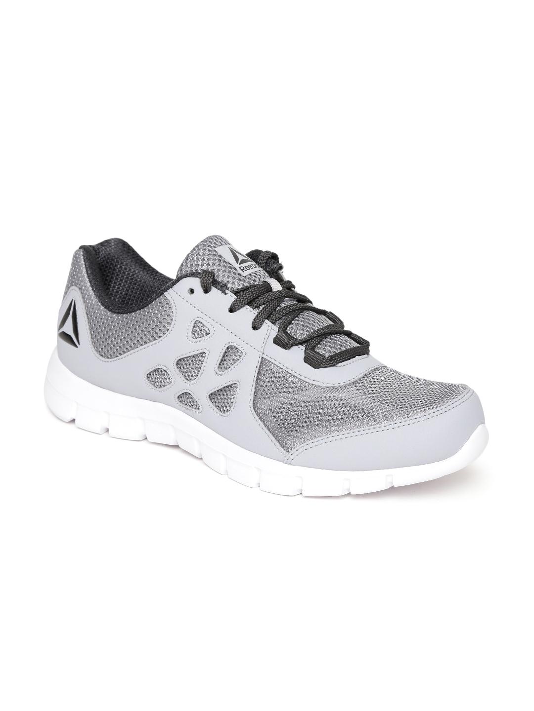 6b63abb1d55976 Buy Reebok Men Grey Sprint Affect Xtreme Running Shoes - Sports ...