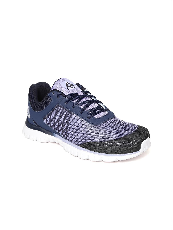 1db7eb85c Buy Reebok Women Navy   Lavender Run Escape Xtreme Running Shoes ...