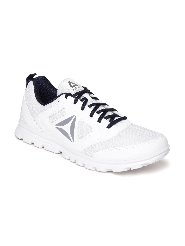 Buy Reebok Men White Run Stormer Xtreme Running Shoes - Sports Shoes ... 352d01628