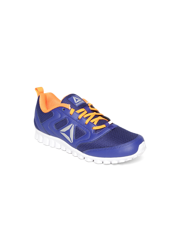 237dc93dd6f0 Buy Reebok Boys Navy Stormer JR. LP Running Shoes - Sports Shoes for ...