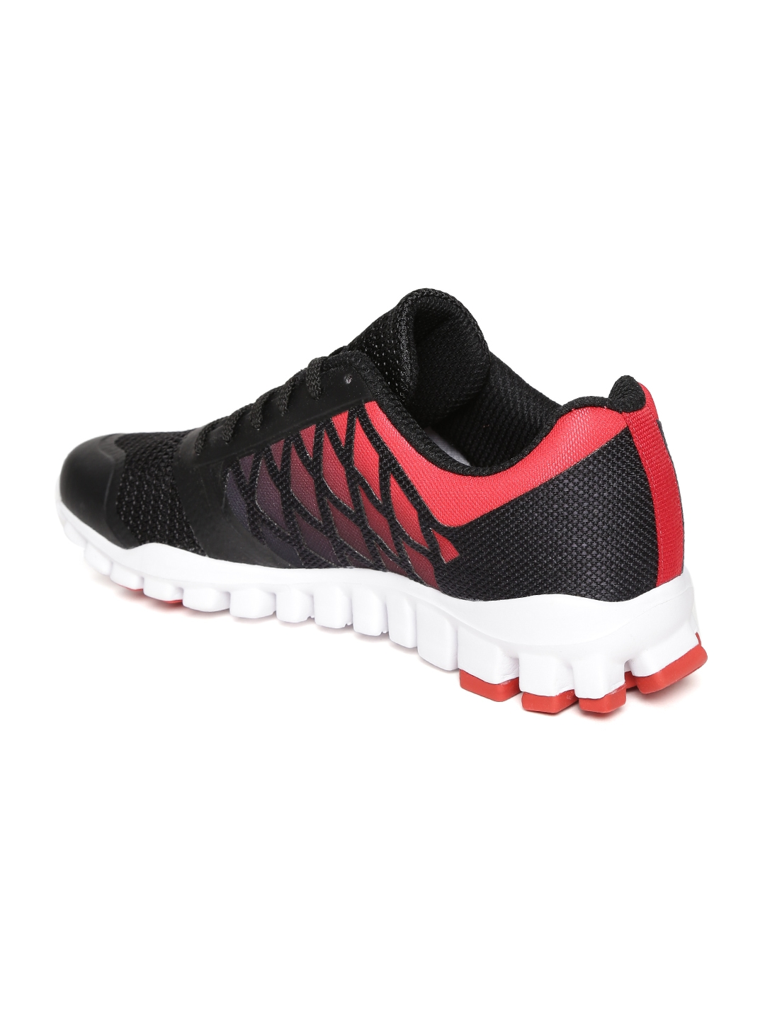 6596a732e63 Buy Reebok Men Black   Red Realflex TR Xtreme Running Shoes - Sports ...