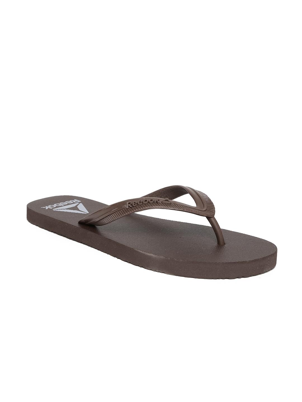 1ae6b7f73055 Buy Reebok Men Brown Avenger Thong Flip Flops - Flip Flops for Men ...