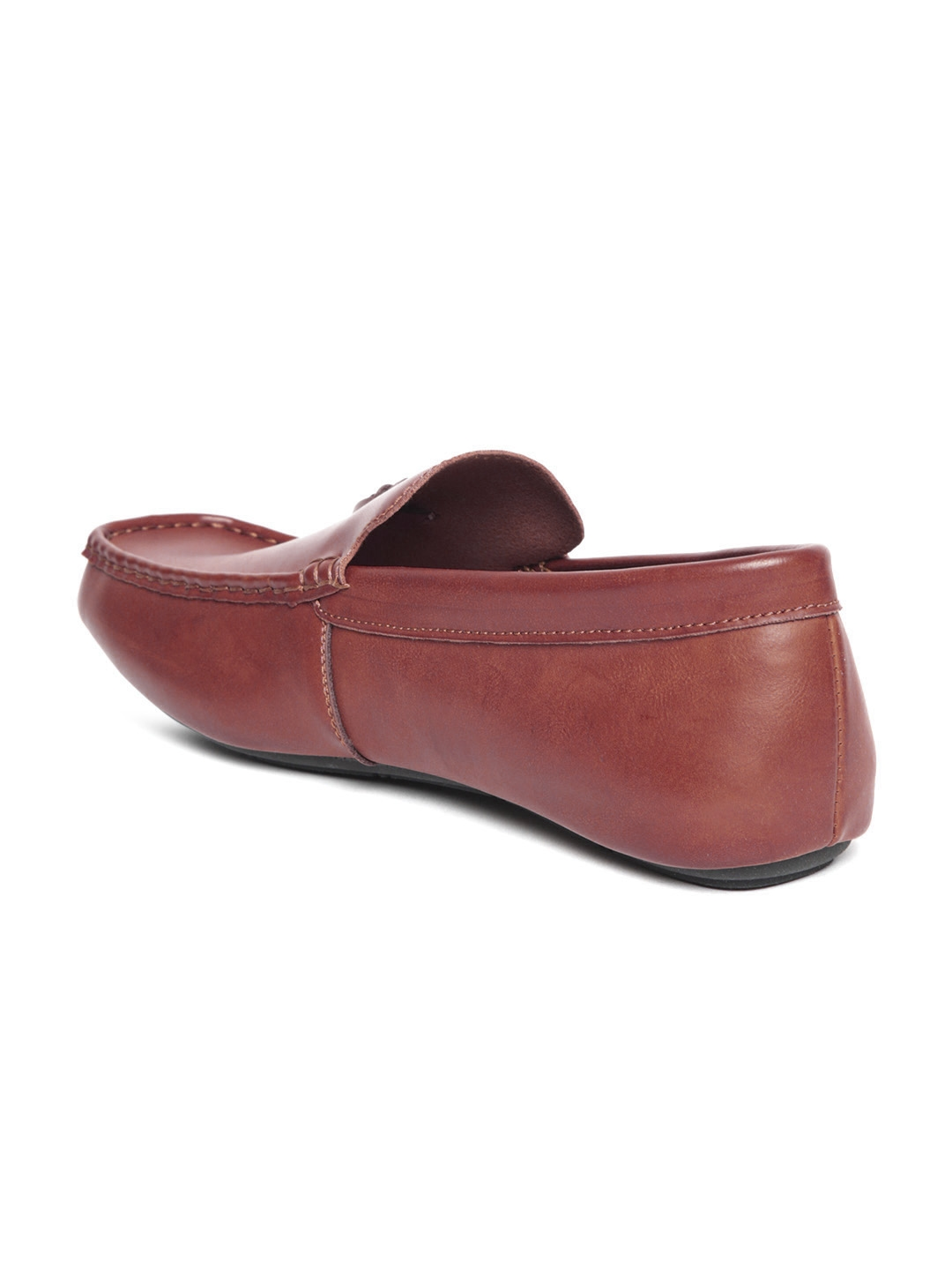 1ca9734261 Buy Arrow Men Red Leather Tassel Loafers - Casual Shoes for Men ...