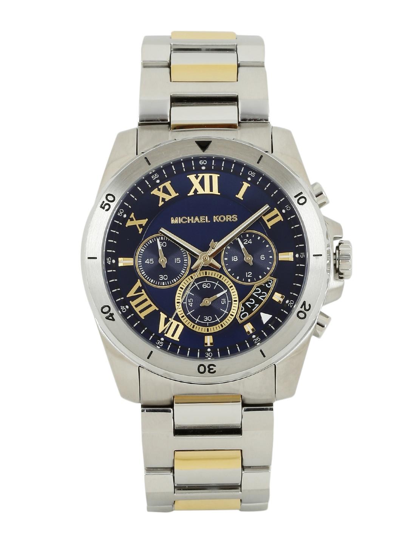 c8a8e9f88860 Buy Michael Kors Men Blue Dial Chronograph Watch MK8437 2T - Watches ...