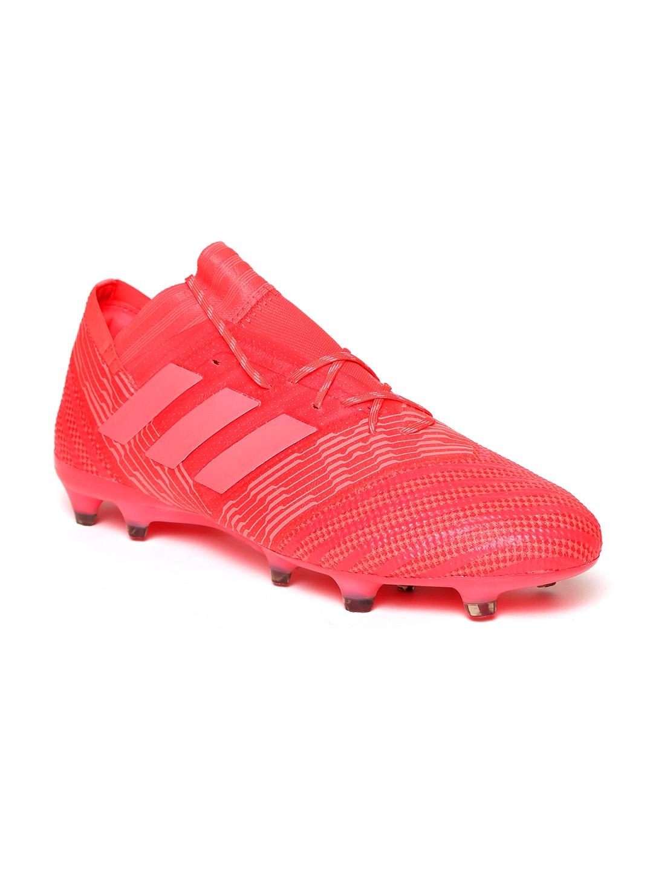 036a5b4d2 Buy ADIDAS Men Coral Red Nemeziz 17.1 FG Football Shoes - Sports ...