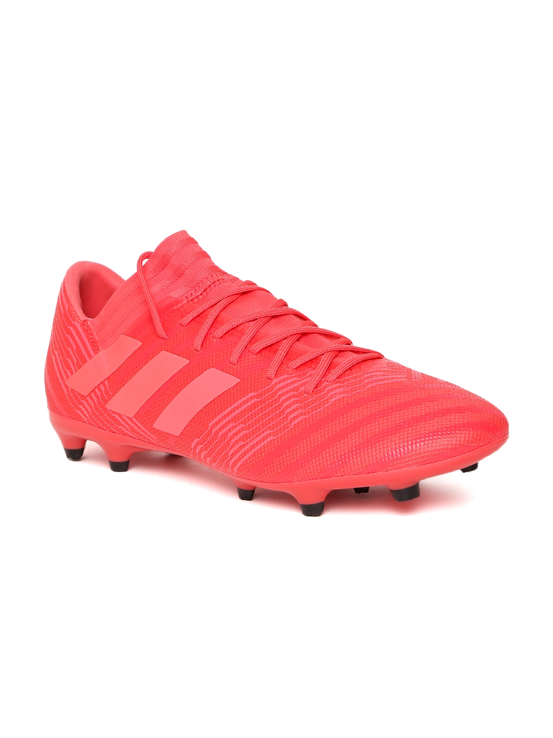 8c42d397df9e Buy ADIDAS Men Coral Orange NEMEZIZ 17.3 FG Football Shoes - Sports ...