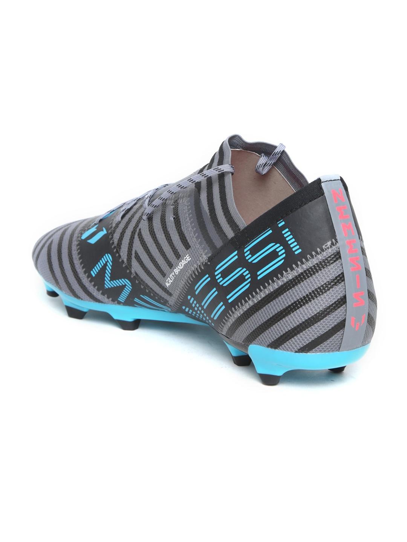 new concept 07afe 5dc63 ADIDAS Men Grey   Black Nemeziz Messi 17.2 FG Football Shoes