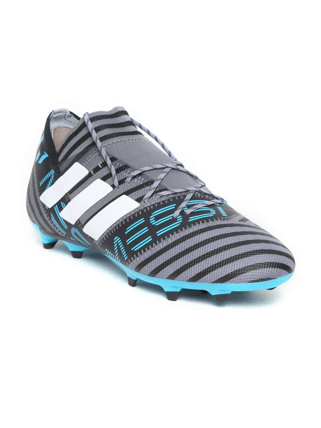 Buy ADIDAS Men Grey   Black Nemeziz Messi 17.2 FG Football Shoes ... 0db163e09