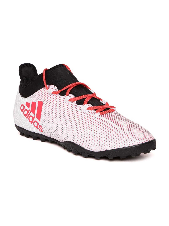 e0626dc0112 Buy ADIDAS Men White   Red X Tango 17.3 TF Printed Football Shoes ...