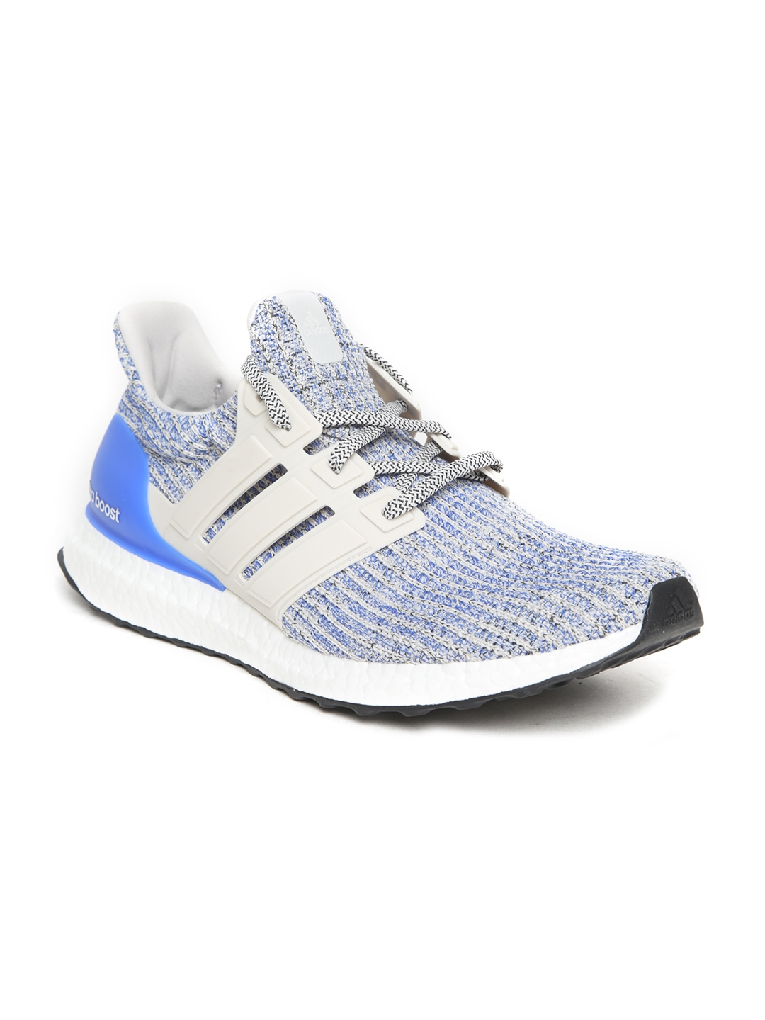 34e97341d8a Buy ADIDAS Men Grey   Blue Ultraboost Running Shoes - Sports Shoes ...