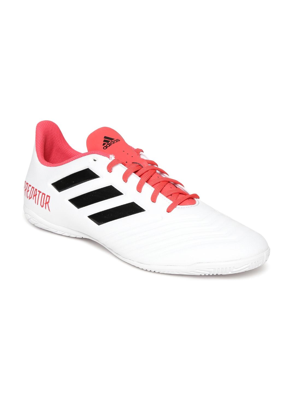 Buy ADIDAS Men White Predator Tango 18.4 IN Football Shoes - Sports ... c97a8728e1