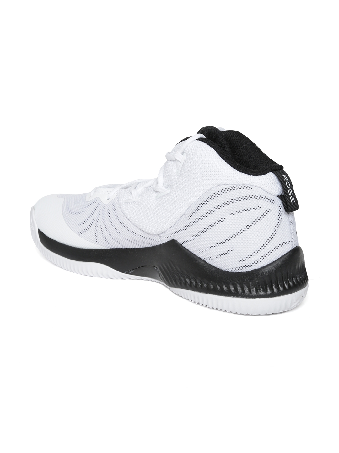 check out 5a2f1 3ee56 ADIDAS Men White D Rose Dominate III Basketball Shoes