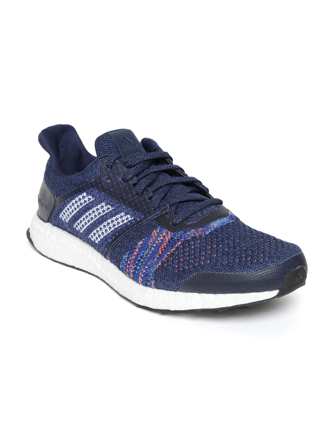 2d90a861a Buy ADIDAS Men Navy Ultraboost ST Running Shoes - Sports Shoes for ...