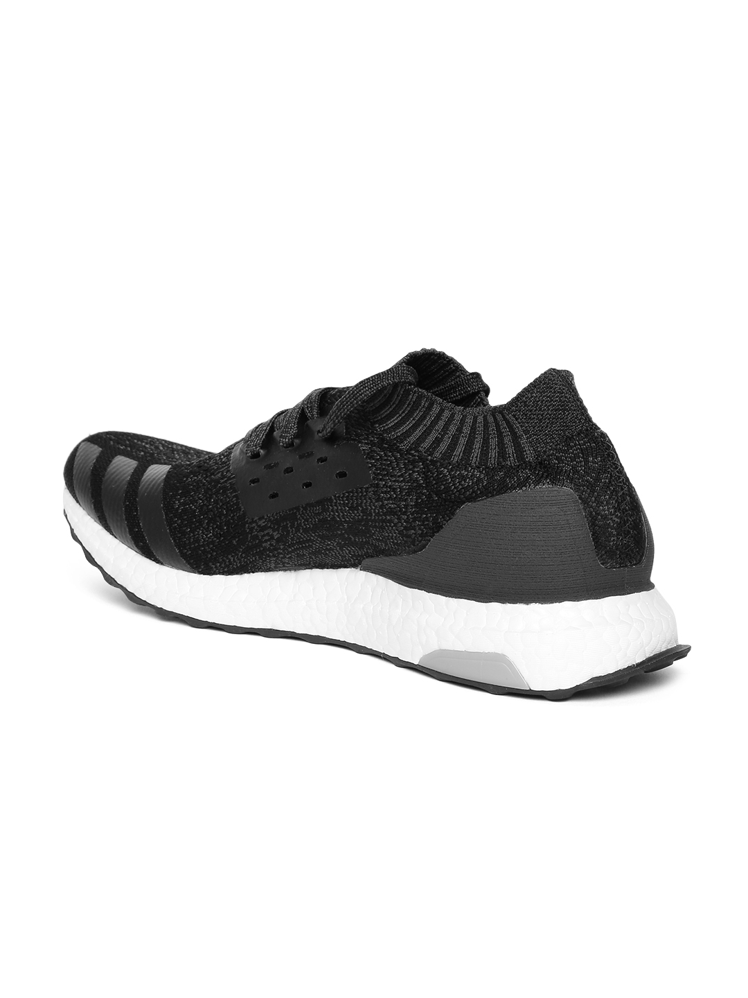 a4013a51c14 Buy ADIDAS Men Black   Charcoal Grey Ultraboost Uncaged Running ...