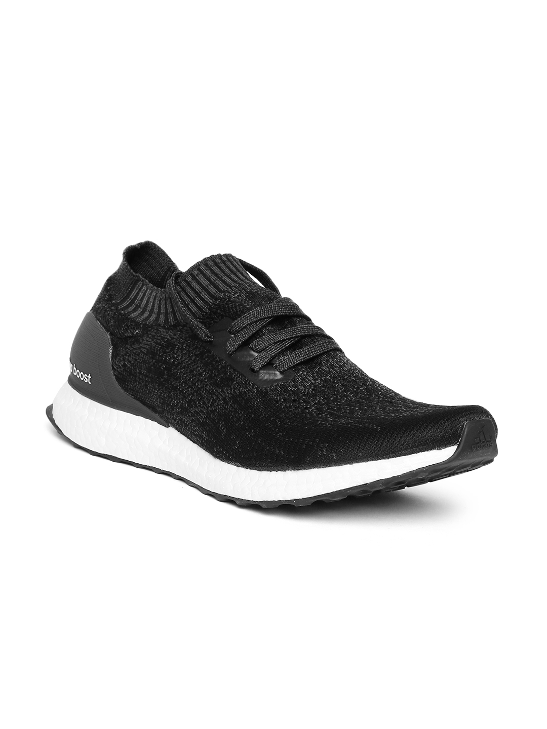 Buy ADIDAS Men Black   Charcoal Grey Ultraboost Uncaged Running ... 01bb10e99