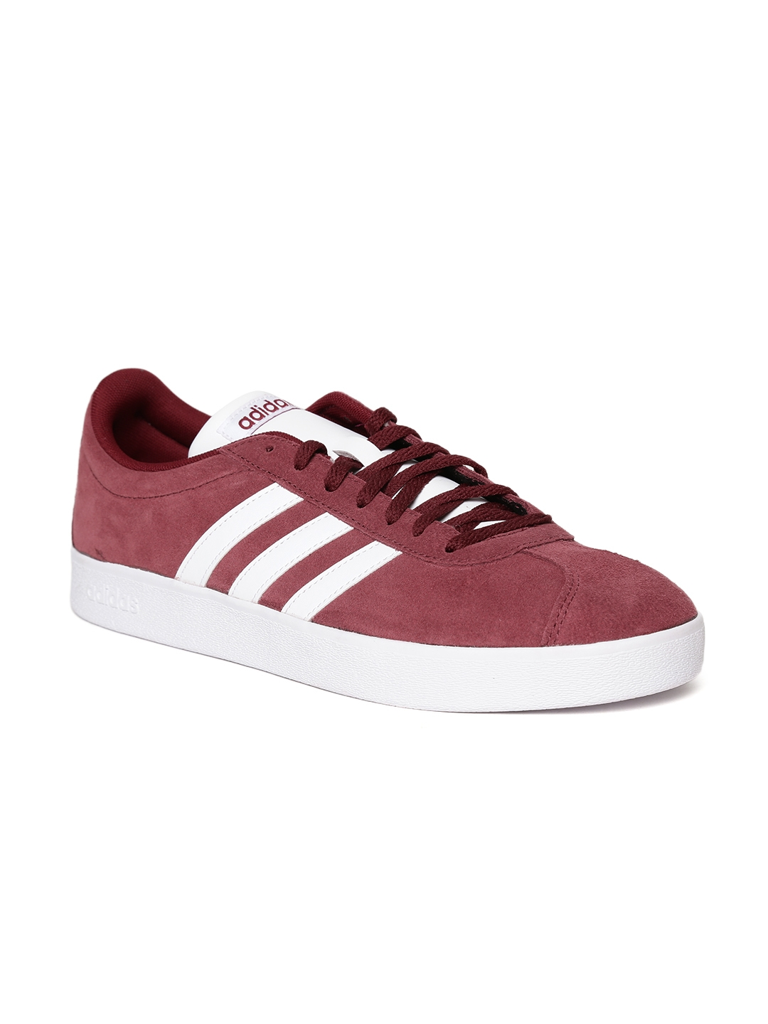 ca12d1e0831f Buy ADIDAS Men Burgundy VL COURT 2.0 Sneakers - Casual Shoes for Men ...