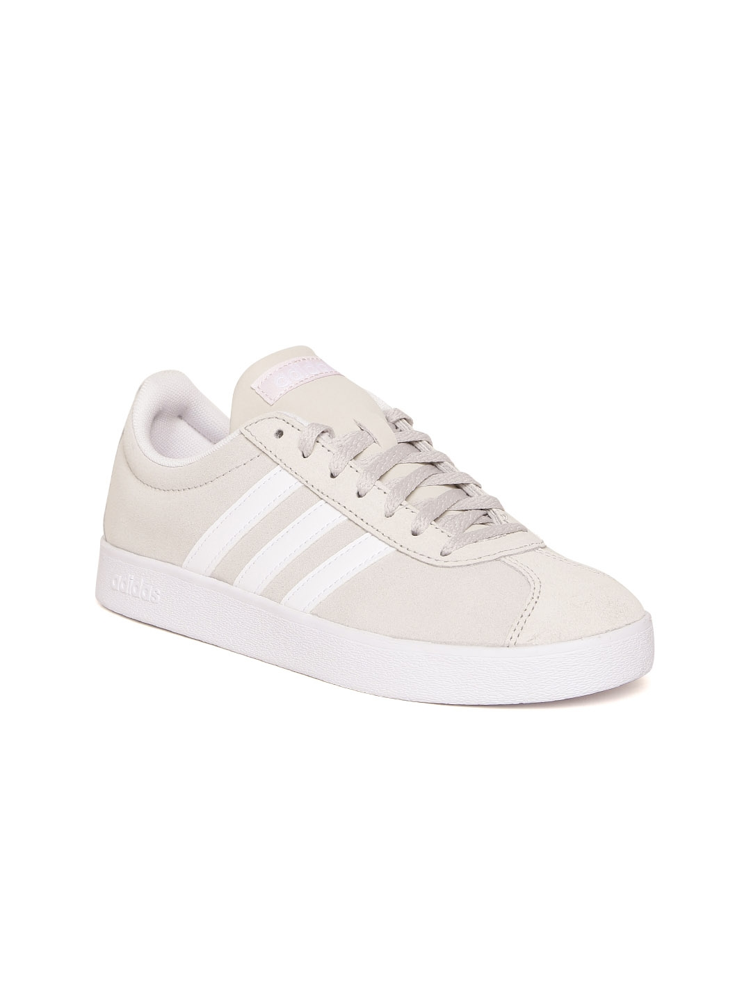 1cd9daa711eedd Buy ADIDAS Women Beige VL COURT 2.0 Sneakers - Casual Shoes for ...
