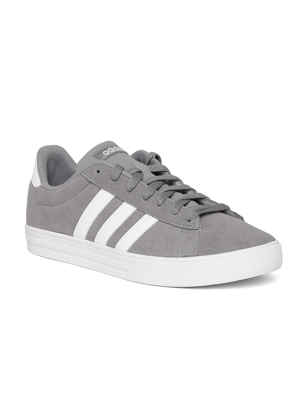 f349dbb21b96 Buy ADIDAS Men Grey DAILY 2.0 Sneakers - Casual Shoes for Men ...