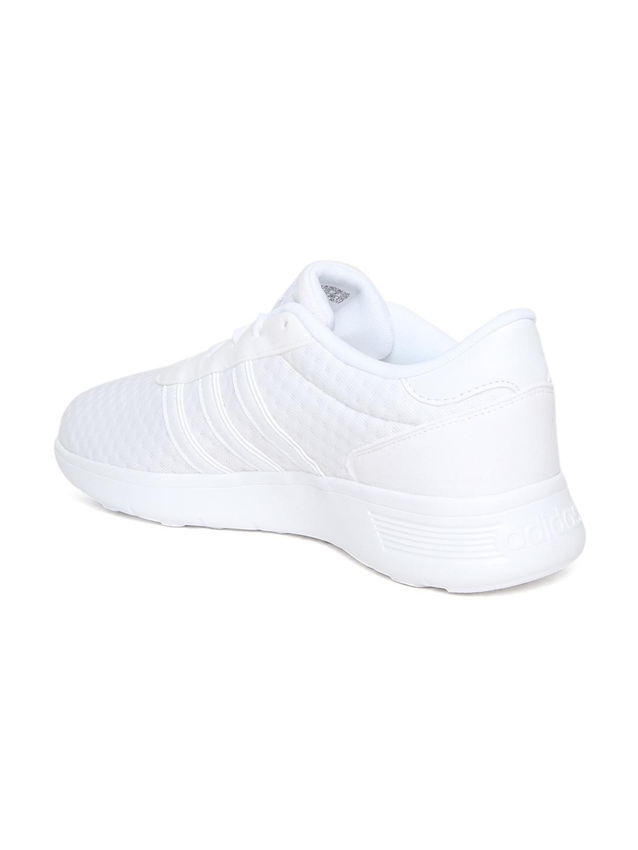 e3031d1b23b1 ... real adidas unisex white lite racer shoes cbd4a a8a4d