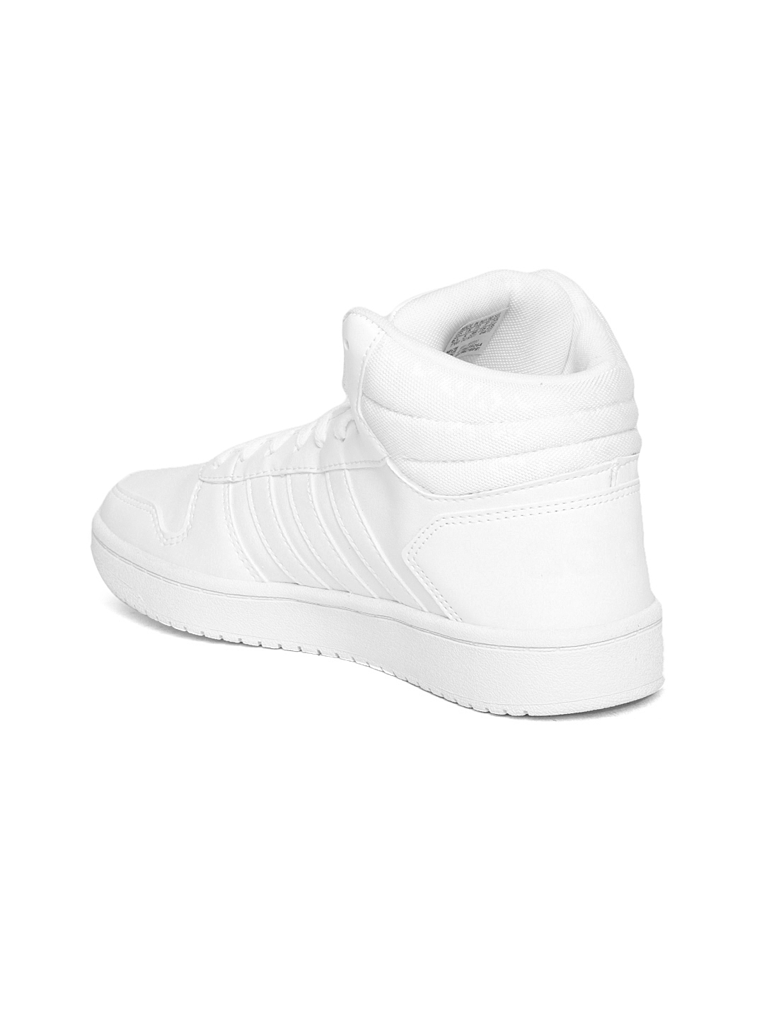 d62e708db86 Buy ADIDAS Women White HOOPS 2.0 MID W Sneakers - Casual Shoes for ...