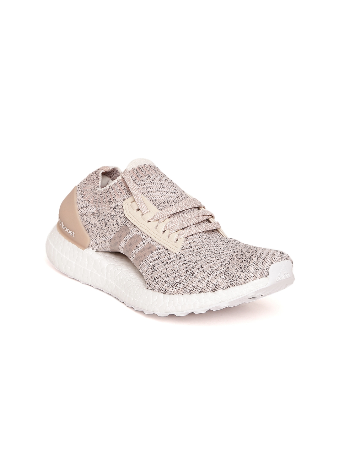 9babbf55aec8a8 Buy Adidas Women Beige Ultraboost X Patterned Running Shoes - Sports ...