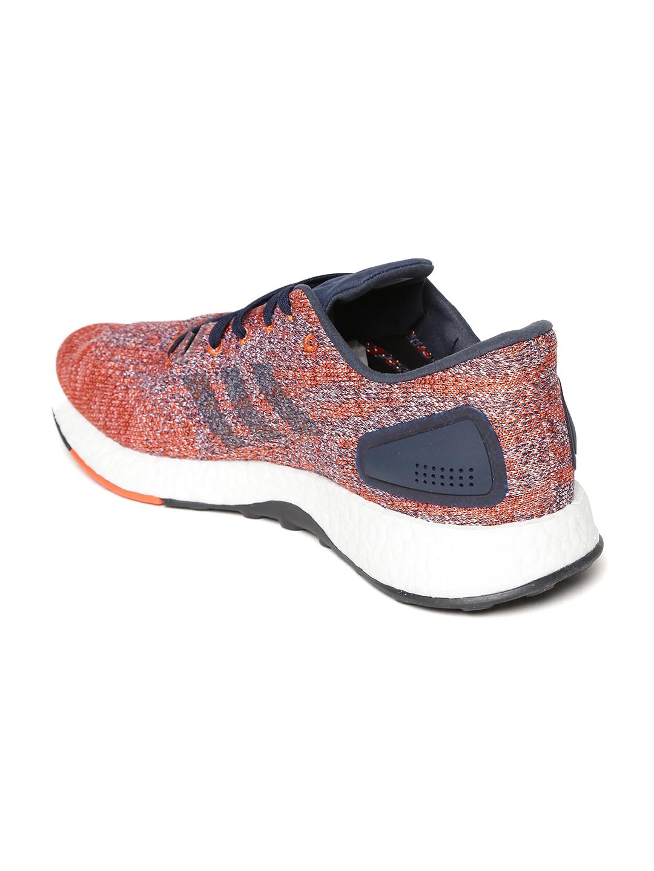 a25c8aaf0 Buy ADIDAS Men Navy   Orange Pureboost DPR Running Shoes - Sports ...