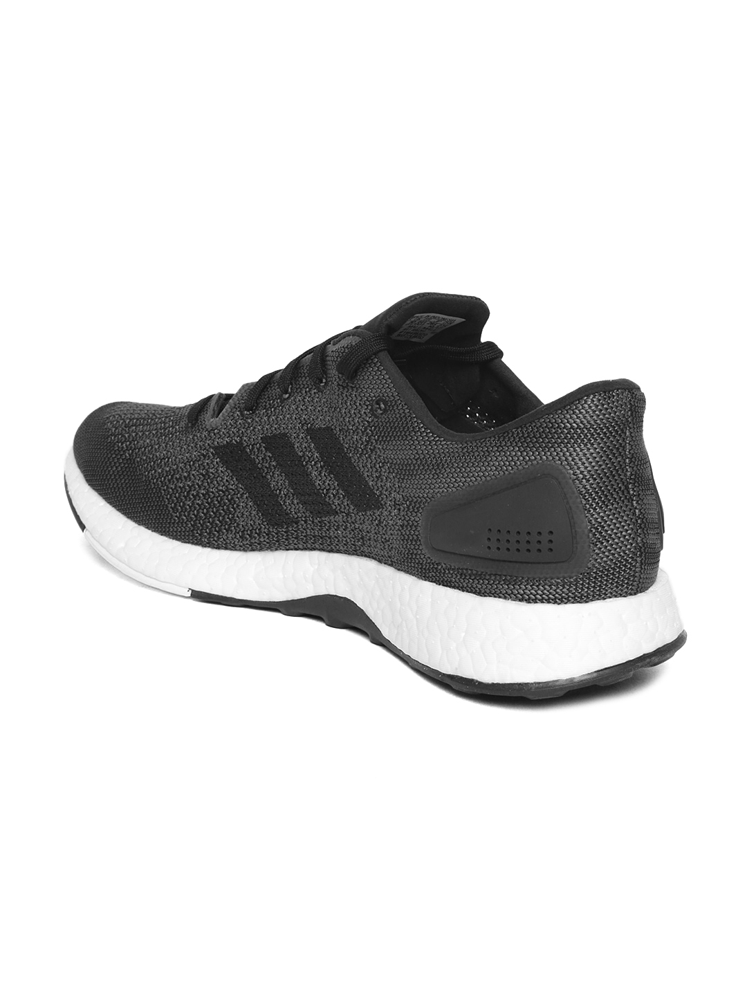b270d502b Buy ADIDAS Men Charcoal Grey PUREBOOST DPR Running Shoes - Sports ...