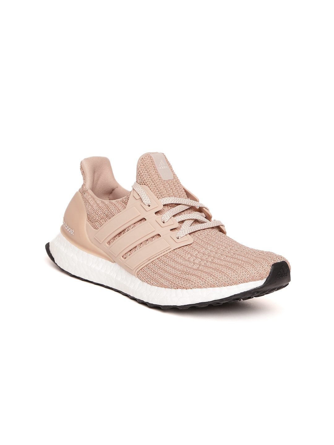 buy popular f9a7c 5bc06 ADIDAS Women Peach-Coloured Ultraboost Patterned Running Shoes