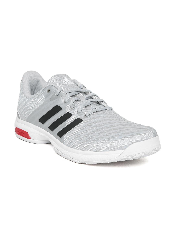 a9cdf668252e95 Buy Adidas Men Grey Barricade Court OC Tennis Shoes - Sports Shoes ...